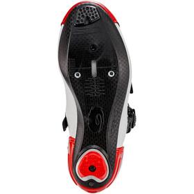 Sidi Alba 2 Chaussures Homme, white/black/red